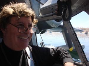 Tom Beaching at Lake Powell